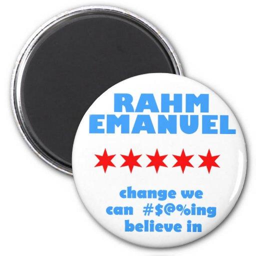 Rahm Emanuel for Mayor Magnets