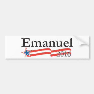 Rahm Emanuel for President 2016 Bumper Stickers