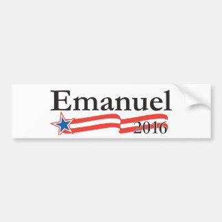 Rahm Emanuel for President 2016 Bumper Stickers