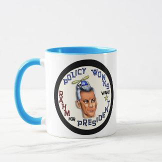 Rahm Emanuel for President Mug