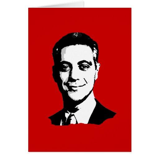 Rahm Emanuel Gear Greeting Card