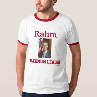 Rahm Emanuel Maximum Leader Ringer T-Shirt