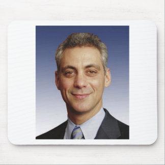 Rahm Manuel para el alcalde Mouse Pads