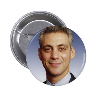 Rahm Manuel para el alcalde Pin Redondo De 2 Pulgadas