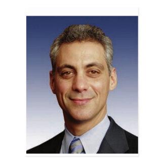 Rahm Manuel para el alcalde Tarjeta Postal