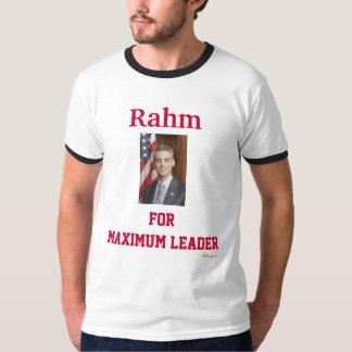 Rahm para la camiseta máxima del líder
