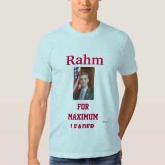 Rahm para la camiseta máxima del líder remera