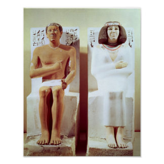 Rahotep and his Wife, Nofret Poster