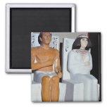 Rahotep y su esposa, Nofret, de Meydum Imán Para Frigorifico