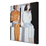 Rahotep y su esposa, Nofret, de Meydum Impresiones En Lienzo Estiradas