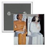 Rahotep y su esposa, Nofret, de Meydum Pins