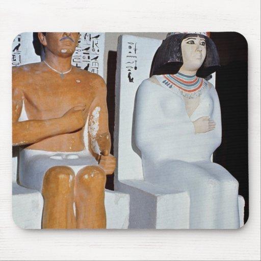 Rahotep y su esposa, Nofret, de Meydum Tapete De Raton