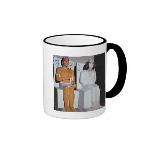 Rahotep y su esposa, Nofret, de Meydum Taza De Café
