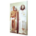 Rahotep y su esposa, Nofret Impresiones En Lienzo Estiradas