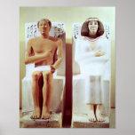 Rahotep y su esposa, Nofret Póster