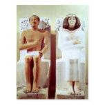 Rahotep y su esposa, Nofret Tarjeta Postal