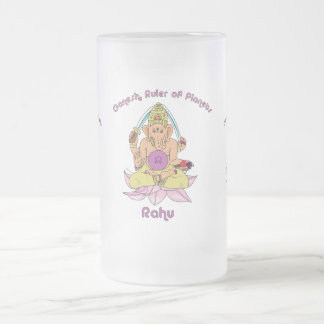 Rahu Frosted Glass Beer Mug