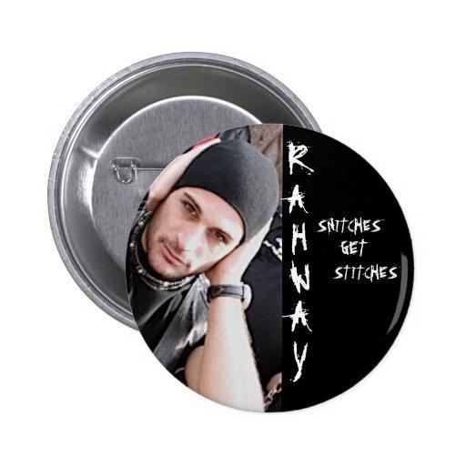 RAHWAY, espías, consiguen, Pin de las puntadas Pin Redondo 5 Cm