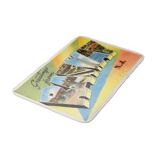 Rahway New Jersey NJ Old Vintage Travel Postcard- Bath Mat