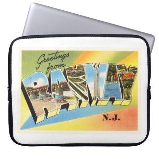 Rahway New Jersey NJ Old Vintage Travel Postcard- Computer Sleeve