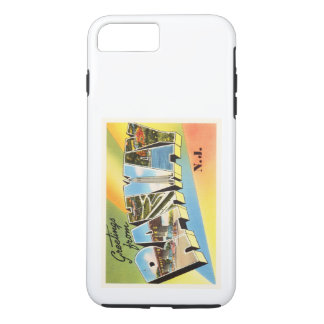 Rahway New Jersey NJ Old Vintage Travel Postcard- iPhone 8 Plus/7 Plus Case