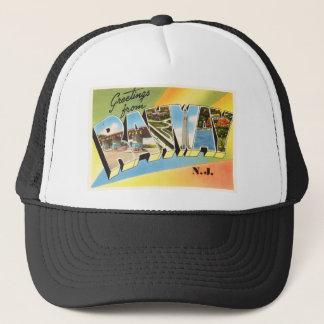 Rahway New Jersey NJ Old Vintage Travel Postcard- Trucker Hat