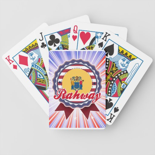 Rahway, NJ Bicycle Playing Cards