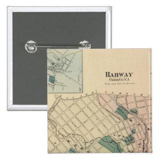 Rahway, NJ Pinback Button