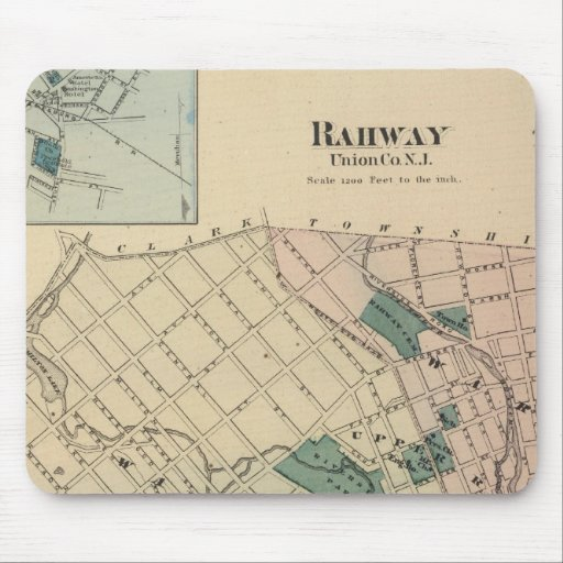 Rahway, NJ Tapetes De Ratón