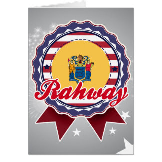 Rahway, NJ Tarjeta De Felicitación