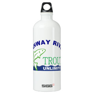 Rahway River Trout Unlimited Aluminum Water Bottle
