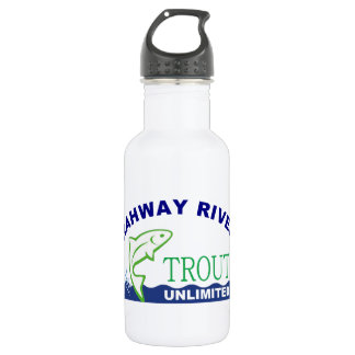 Rahway River Trout Unlimited 18oz Water Bottle