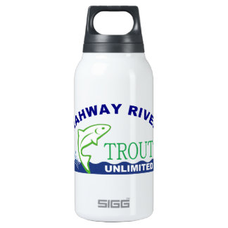 Rahway River Trout Unlimited 10 Oz Insulated SIGG Thermos Water Bottle