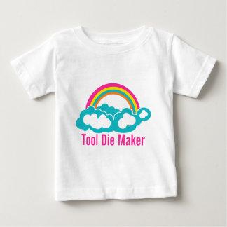 Raibow Cloud Tool Die Maker Baby T-Shirt