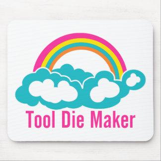 Raibow Cloud Tool Die Maker Mouse Pad