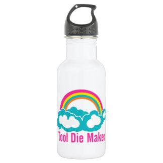 Raibow Cloud Tool Die Maker Water Bottle