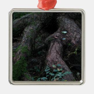 Raíces antiguas ornaments para arbol de navidad