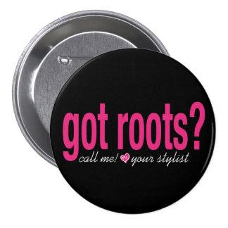 ¿raíces conseguidas? Botón Pin Redondo De 3 Pulgadas