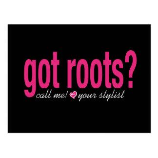 ¿raíces conseguidas? Postal