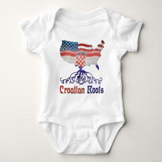 Raíces croatas americanas polera