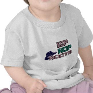 Raíces de Hip Hop Camisetas