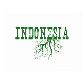 Raíces de Indonesia Postal