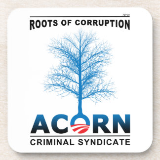 Raíces de la corrupción posavasos de bebidas