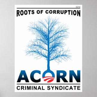 Raíces de la corrupción póster