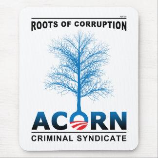 Raíces de la corrupción tapete de raton