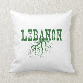 Raíces de Líbano Cojín Decorativo