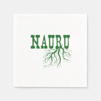 Raíces de Nauru Servilletas De Papel