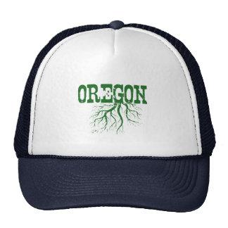 Raíces de Oregon Gorras De Camionero