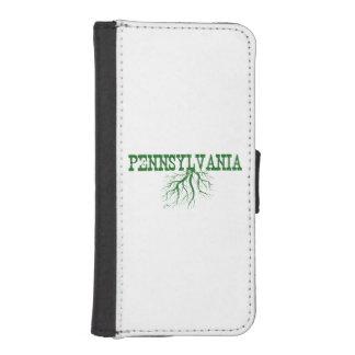 Raíces de Pennsylvania Fundas Tipo Billetera Para iPhone 5