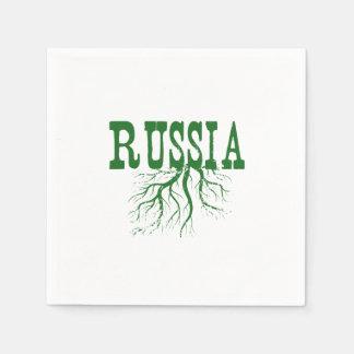 Raíces de Rusia Servilletas Desechables
